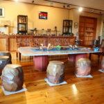 備前焼末石窯ギャラリー風景