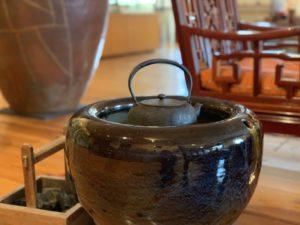 末石窯ギャラリー火鉢