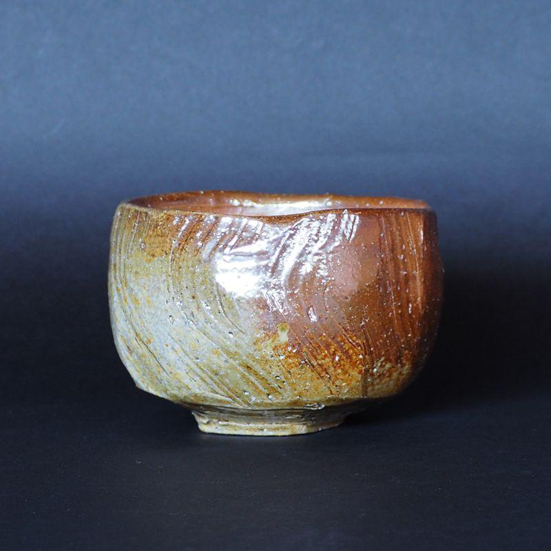 備前焼抹茶碗末石窯